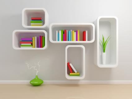 Shadow Box Shelves