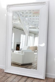 Use mirrors to open up room