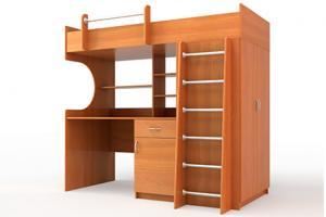 Loft Bed Study Area
