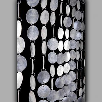 Capiz Shell Beaded Curtain