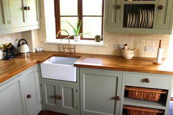 Bright Kitchen Cabinets