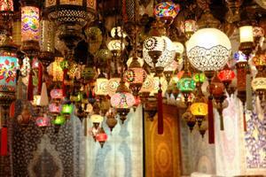 Haning lanterns