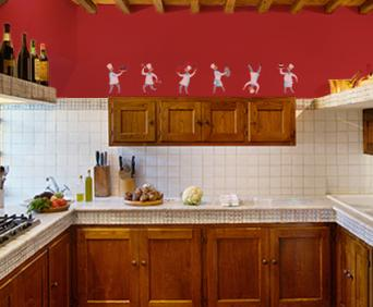 Charming Fat Chef Kitchen