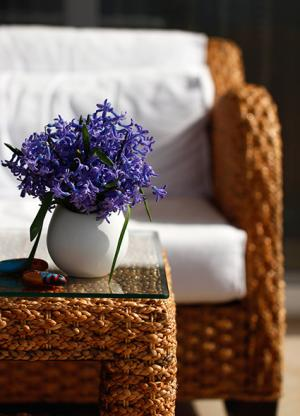 woven furniture