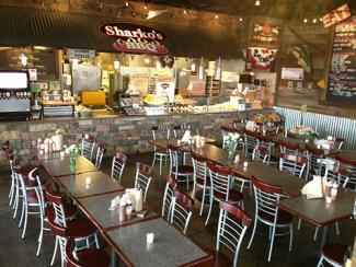 Interior of Sharko's Naperville Restaurant