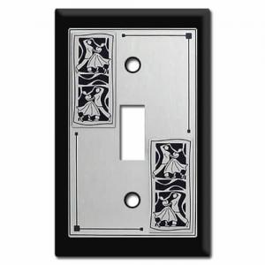 Ballroom Dancer Light Switchplate