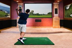 golf themed room décor ideas
