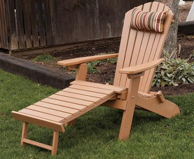 Exceptional Amish Polycraft Adirondack Chair