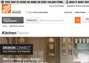 Interactive Kitchen Design LoveToKnow - Home depot kitchen remodels
