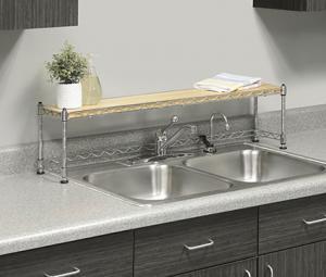 Whitmor 6066-930 Supreme Over The Sink Shelf