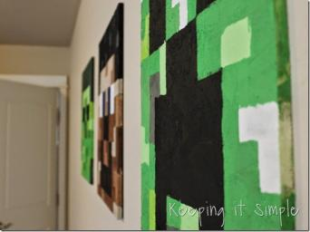 Minecraft Wall Art