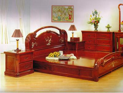 Rosewood bed set