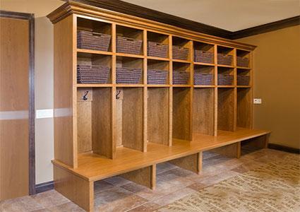 cherry cabinet storage