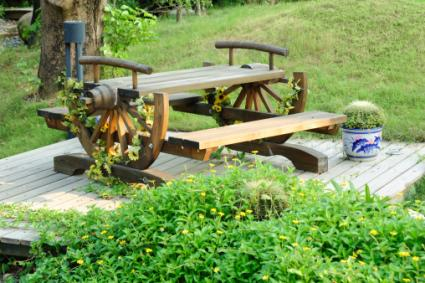 Western garden furniture