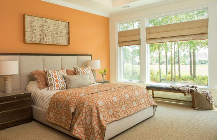 Bedroom design by Catherine Hersacher, MA, LEED AP