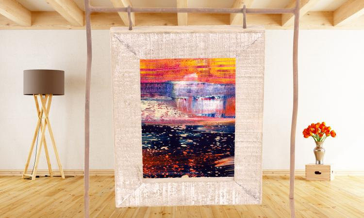 art as a room divider