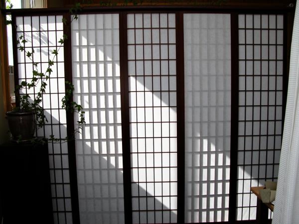 rice paper partition