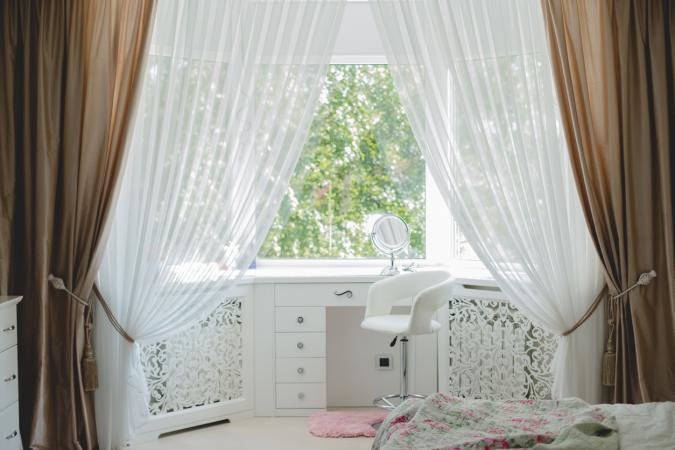 curtain as divider