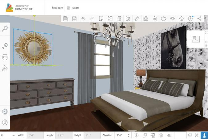 Screenshot of Home Styler bedroom