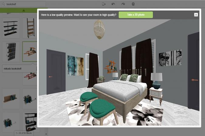 Screenshot Of Room Styler Bedroom Program