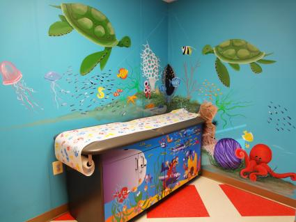 Pediatrician Ocean theme