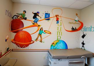 Healthy activities wall art by JMS Artistic Dimensions, LLC