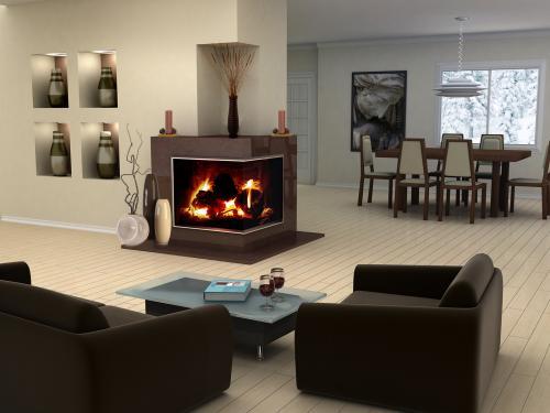 Groovy How To Decorate A Corner Fireplace Lovetoknow Interior Design Ideas Oxytryabchikinfo