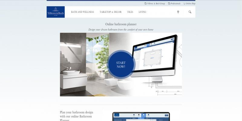 Screenshot of villeroy-boch.com