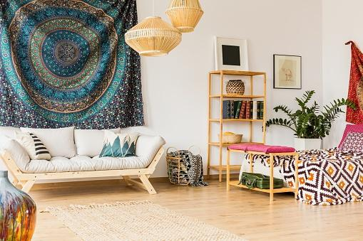 bohemian style apartment