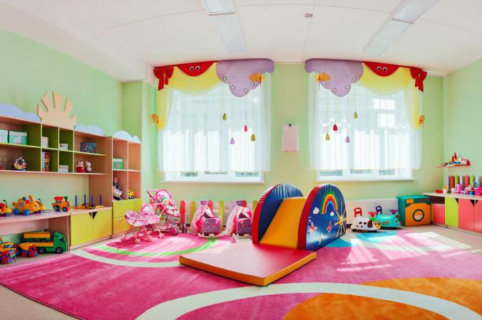 Kids indoor playroom