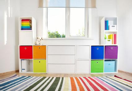 Colorful storage unit