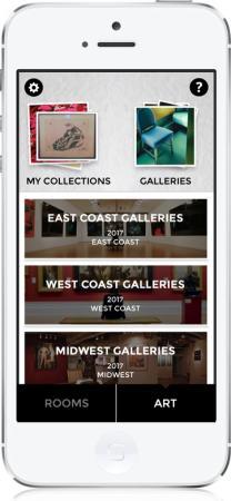Curate design app