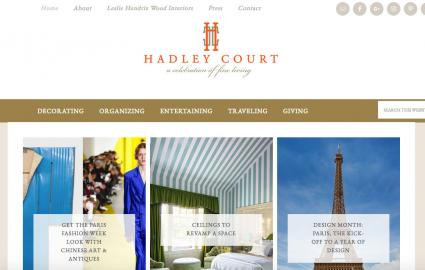 Hadley Court blog home page