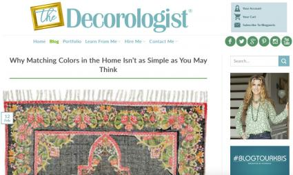 The Decorologist blog