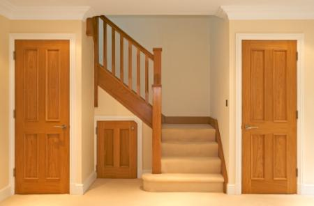 Stained Oak Door design
