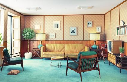 50s Style Interior Design Ideas | LoveToKnow
