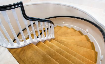 Spiral Stairs Carpeting