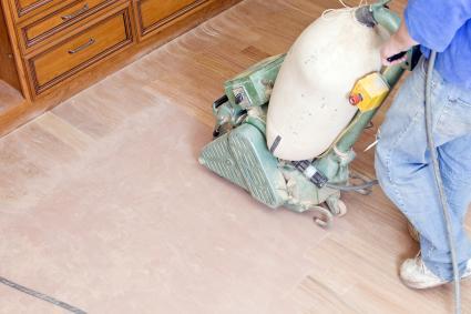 DIY Refinishing Hardwood Floors