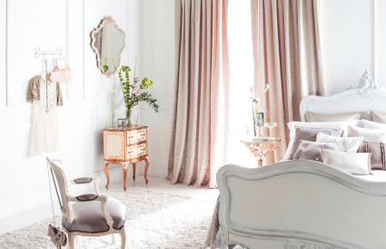 French country style bedroom