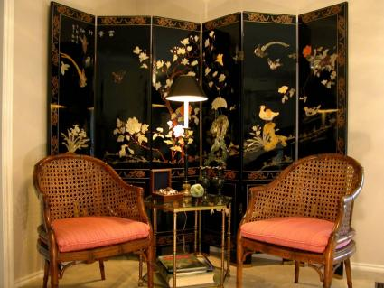 Source. Asian style interior design, sometimes called Oriental design,  showcases ...