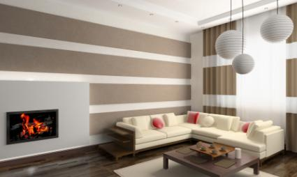By Liz ODonnell Interior Designer. Modern Living Room