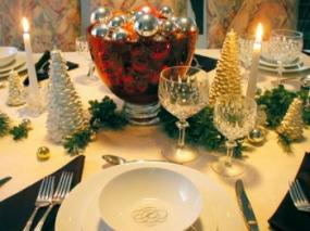 Centerpiece should be low enough so guests can see each other