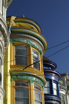 Victorian Painted Ladies of San Francisco.
