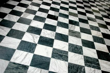 Black-and-White Checkerboard