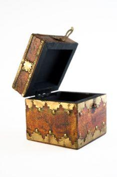 Decorative boxes can give additional storage.