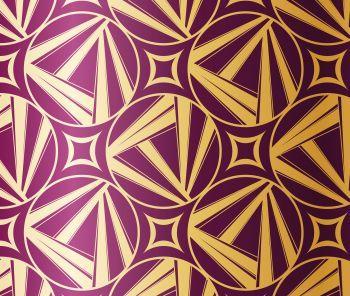 Geometric shapes were popular Art Deco designs