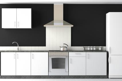 Black And White Kitchen Ideas black and white kitchen ideas | lovetoknow