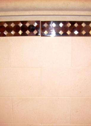 Mother of Pearl Decorative Tile Border