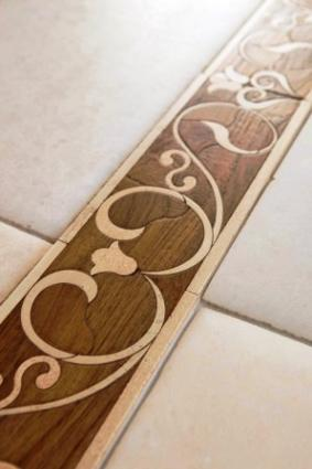 Pallazo Vecchio Hardwood Border by Walker Zanger