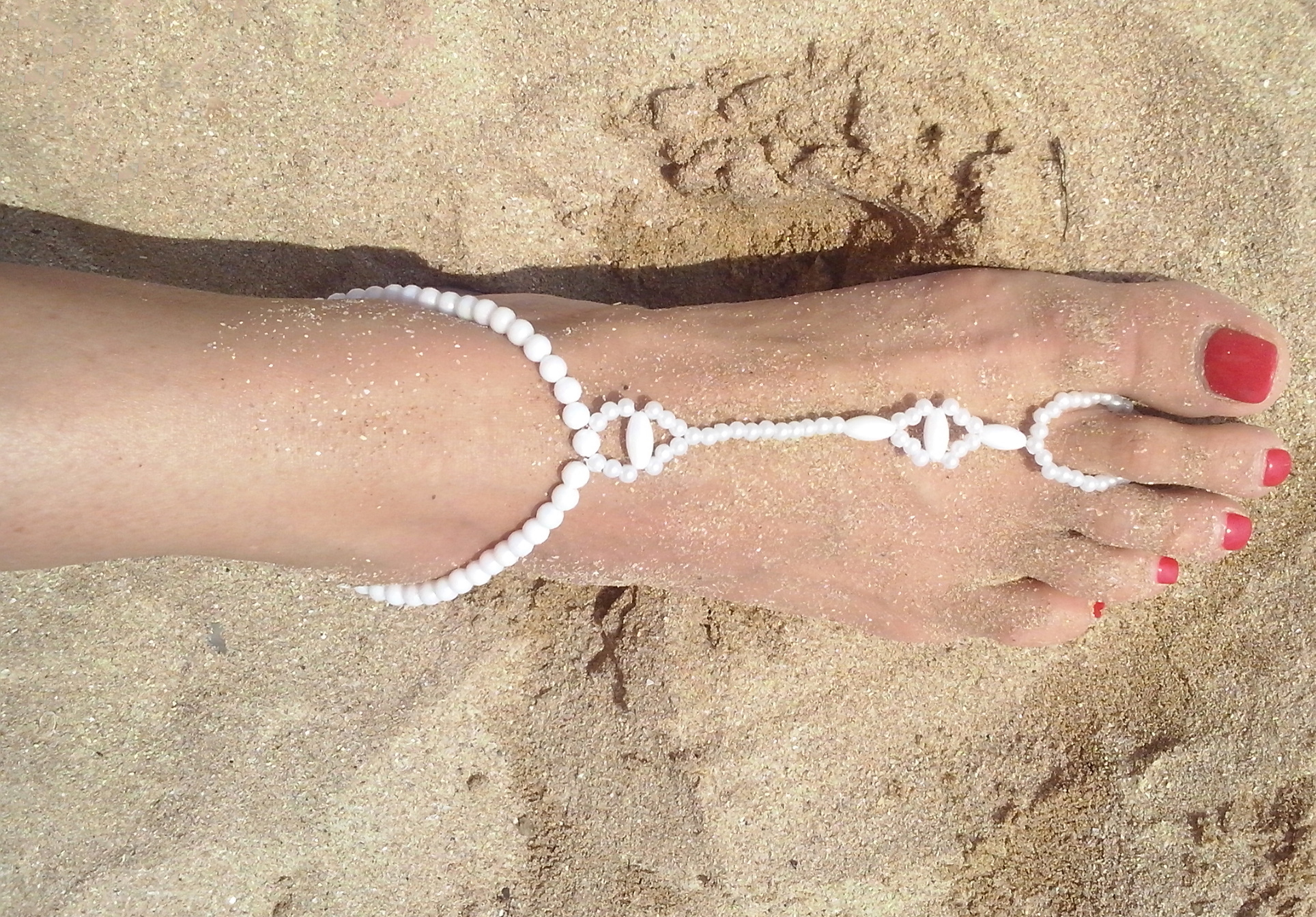 gift il matching beads ankle black p fullxfull glass pair summer anklets hemp orchid pink beach bracelets anklet friendship